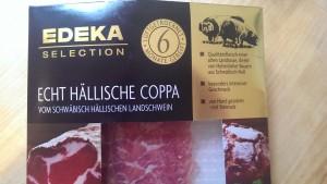 EDEKA Echt Hällische Coppa vom schwäbisch hällischen Landschwein