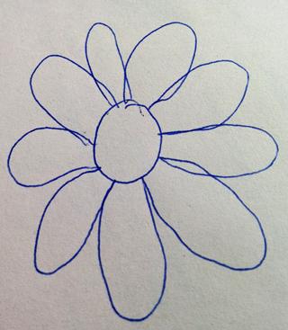 Diese Blume ist trotz ihrer offensichtlichen Unvollkommenheit schön.